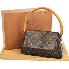 ed1d0a412e71 Louis Vuitton Evening Pm Baguette Used Louis Vuitton