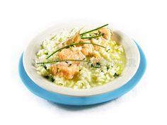 Arroz cremoso con salmón / Más recetas e información sobre la alimentación en personas con diabetes en: www.fundaciondiabetes.org/sabercomer