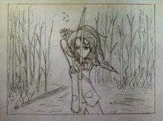 Drawing Katniss Everdeen