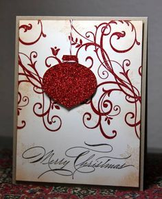 Christmas Swirls by CAKath - Cards and Paper Crafts at Splitcoaststampers
