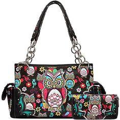 Fashion Handbags, Purses And Handbags, Fashion Bags, Ad Fashion, Fashion Women, Concealed Carry Handbags, Owl Purse, Crossbody Shoulder Bag, Shoulder Bags