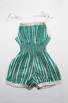 sunsuits!  Had several each summer in the late 50-s/early 60's.  You could wear it to play all day AND go through the sprinklers!