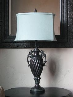 Recover a Lamp Shade ~ DIY