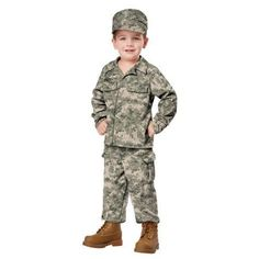 fun shack Boys Military Uniform Costumes Kids Army Camo /& Pilot Flightsuit Outfits