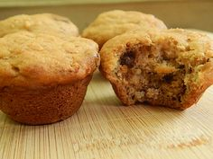 peanut butter chocolate banana mini muffins by drizzle me skinny