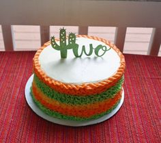 "If you are looking for a super cute themed birthday party for your 2 year old then I highly suggest ""Taco Twosday."" I love the play on words and who doesn't like tacos? 2 Year Old Birthday Party Girl, Second Birthday Boys, 2nd Birthday Party Themes, Twin Birthday, Boy Birthday Parties, Themed Birthday Cakes, Birthday Wishes, Fiesta Cake, Fiesta Theme Party"