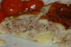 Картофельный рулет с капустно мясной начинкой / Рецепты с фото