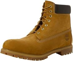 Timberland Men''s 6 Inch Premium Waterproof Boots Timberland 6, Timberland Winter Boots, Timberland Boots Outfit, Timberland Waterproof Boots, Men's Boots, Teen Boots, Cowgirl Boots, High Boots, Combat Boots