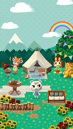 Animal Crossing: Pocket Camp - Friend Finder Exclusive Wallpaper #1
