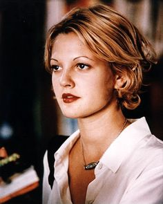 Seriously considering resurrecting my old Drew Barrymore haircut. hmmmmm?