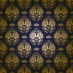 Damask Seamless Floral Pattern — Vector EPS #elegant #royal • Available here → https://graphicriver.net/item/damask-seamless-floral-pattern/3975910?ref=pxcr