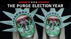 The Purge Lady Liberty Makeup Tutorial | THE PURGE MINI SERIES