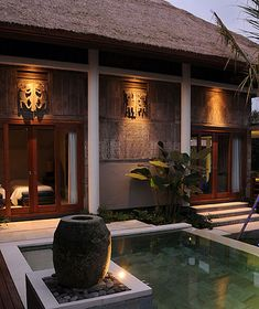 The Purist Villas, Ubud, Bail - spa hotel Tropical Architecture, Architecture Design, Balinese Villa, Bali Garden, Bali House, Spa Interior, Hotel Restaurant, Resort Villa, Le Havre