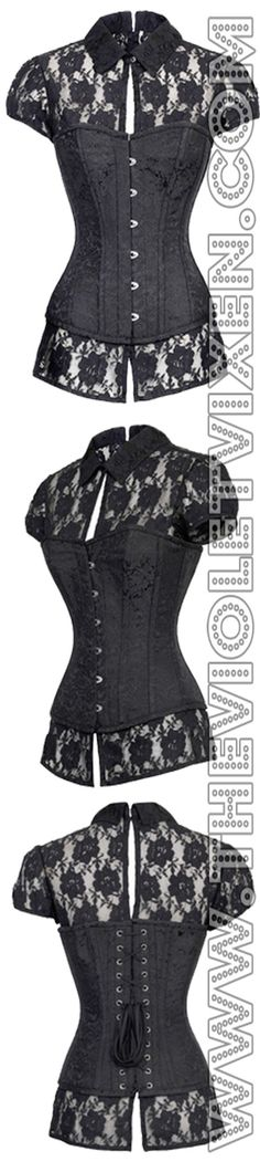 This corset top is too cute!