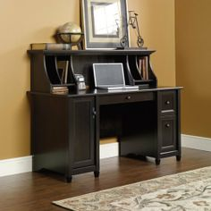 Estate Black Computer Desk with Hutch by Sauder by Sauder, http://www.amazon.com/dp/B003OEQR42/ref=cm_sw_r_pi_dp_CYqgrb0XSFT4G
