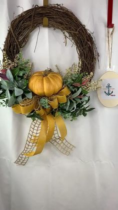 Outside Fall Decorations, Front Door Christmas Decorations, Autumn Wreaths For Front Door, Christmas Mesh Wreaths, Holiday Wreaths, Fall Front Doors, Door Wreaths, Boxwood Wreath, Tulle Wreath