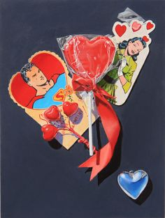 Super Valentine by K Henderson by K Henderson on ARTwanted Superman And Lois Lane, Valentine Day Gifts, Valentines, Valentine's Day, Painting Still Life, Photorealism, Man Of Steel, Romantic Couples, Red Ribbon