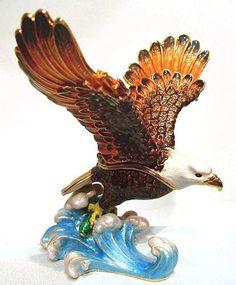Fish Eagle African Theme Treasurines TR146 African Theme, Bald Eagle, Fish, Animals, Animales, Animaux, Pisces, Animal, Animais