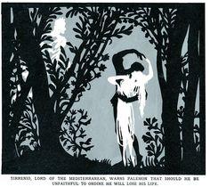 Lotte Reiniger's silhouette art.