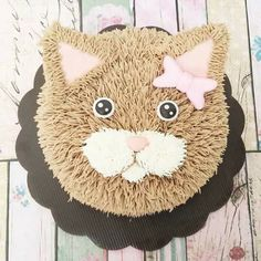 Kitty Party, Fancy Cakes, Cute Cakes, Kitten Cake, Cat Themed Parties, Birthday Cake For Cat, Animal Cakes, Cake Creations, Themed Cakes