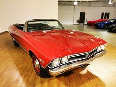 1968 Chevrolet Chevelle SS Convertible L78.