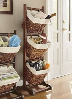 Set of 3 Ladder Baskets from Seventh Avenue ®