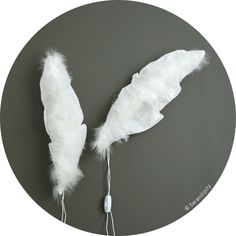 lovely feather and linen light. Nursery Lighting, Applique, Interior Lighting, Serendipity, Kids Room, Lights, Decorating Ideas, Up, Feather