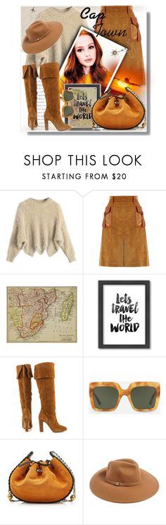 """Let's travel the world"" by gingerbrand ❤ liked on Polyvore featuring Prada, Campbell's Melange, Americanflat, ALDO, Dolce&Gabbana, Marc Jacobs, Forever 21, CapeTown and outfitsfortravel"