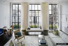 Living Eating Gorgeous Doors All Of It Http Www Stiffandtrevillion Com Living Areas Pinterest Industrial 2 And Window