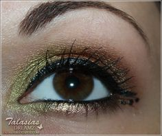 Eye Make Up - Datum: 14.08.2012  http://talasia.blogspot.de/2012/08/amu-swatch-agnes-b-palette-5-ombres-958.html
