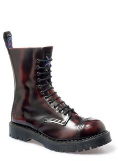 Chukka Safety Work Boots Leather Steel Toe Cap Noir Taille 3-13 homme nouveau