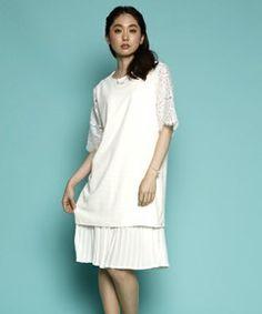 【セール】レーススリーブトップス(シャツ/ブラウス) PLAIN CLOTHING(プレーンクロージング)のファッション通販 - ZOZOTOWN