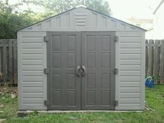 Garden Sheds 10 X 8 keter 6x6 factor plastic garden shed - home delivered