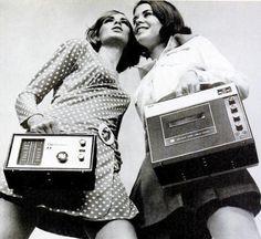 old audio electronic machines