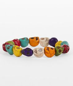 Daytrip Skull Bracelet. want one of these in every color