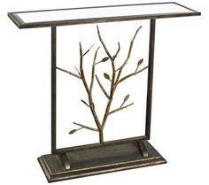 Branch Collection Bronze Console Table | 55DowningStreet.com