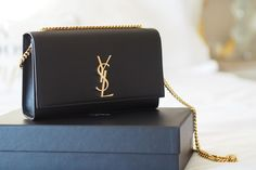 Saint Laurent Classic Medium Kate Monogram Handbag