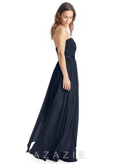 Shop Azazie Bridesmaid Dress - Stella in Charmeuse. Find the perfect made-to-order bridesmaid dresses for your bridal party in your favorite color, style and fabric at Azazie.