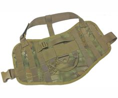 Powkoo Tactical Dog Training Vest Molle Compact Vest Harness -- Continue to the product at the image link. (This is an affiliate link) #DogHarnesses