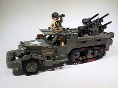 M16 Multiple Gun Motor Carriage by Project Azazel, via Flickr