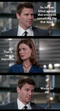 lmao Booth is always inprecise... thats why she loves him so much