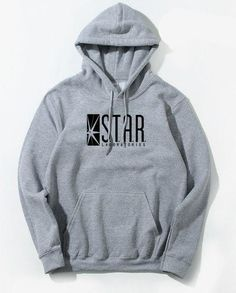 87f068b288 Superman Series STAR S.T.A.R.labs Jumper The Flash Gotham City Comic Books  Black Hoodie Hoodies Sweatshirt