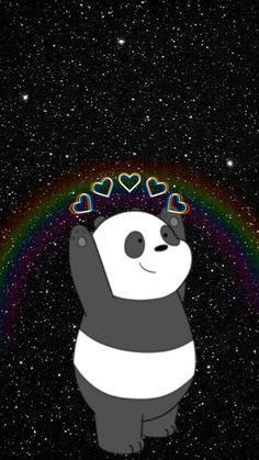 It is my life Cute Panda Wallpaper, Cartoon Wallpaper Iphone, Disney Phone Wallpaper, Bear Wallpaper, Kawaii Wallpaper, Wall Wallpaper, Wallpaper Quotes, We Bare Bears Wallpapers, Panda Wallpapers
