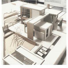 Image result for arquitectura minimalista maquetas