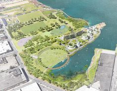Maker Park is a vision to reconcile the erasure of the Brooklyn industrial waterfront and reimage what a public park of the 21st century should be. It pays h...