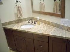 Image result for corner bathroom sink cabinet