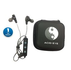 6af5adf3a46 Acid Eye Bluetooth Headphones In Ear Wireless Sweat-Proof Earbuds (Blue)