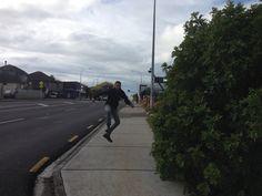 Tyson being Tyson! Sidewalk, Side Walkway, Walkway, Walkways, Pavement