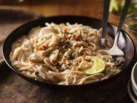 Basil Chicken Ravioli Carbonara recipe from Betty Crocker
