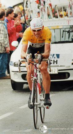 Tour de France 1997, Jan Ullrich wins stage 12 time trial